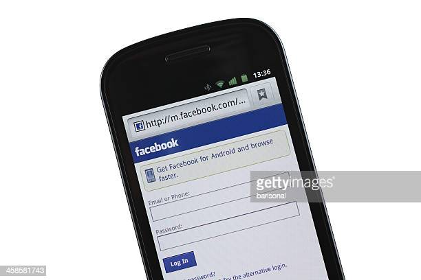 Facebook mobile Website