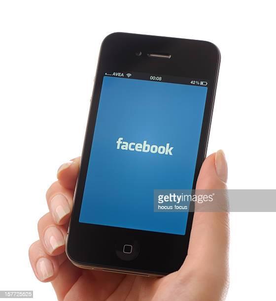 Facebook on iPhone 4