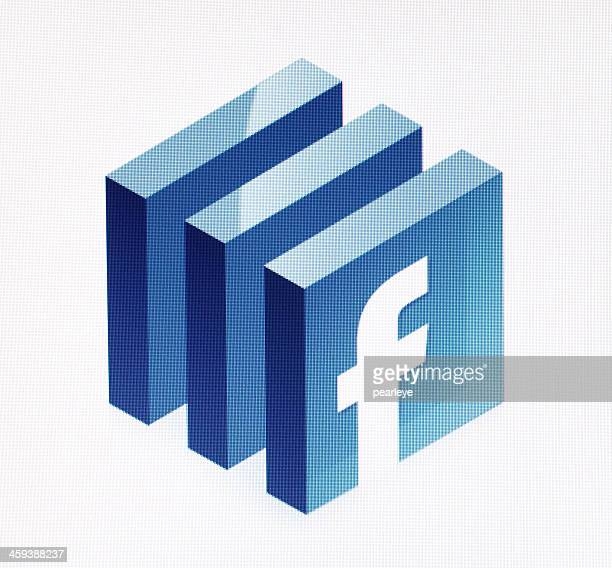 facebook - logo photos et images de collection