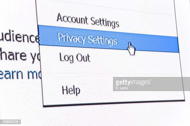 facebook privacy settings - private stock pictures, royalty-free photos & images