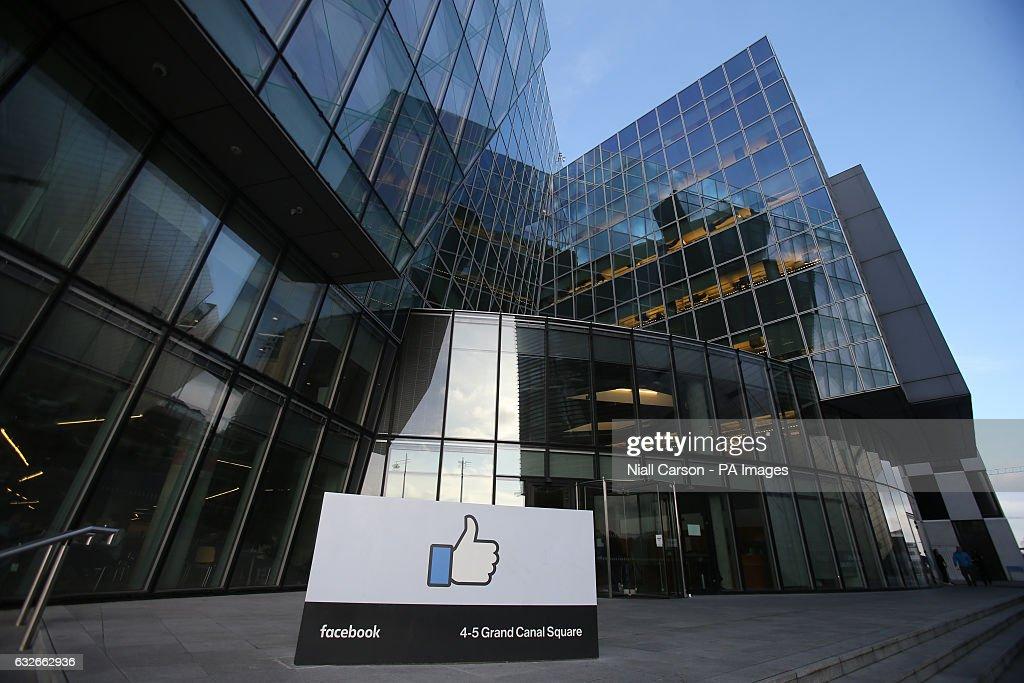 Facebook's European headquarters in Dublin  News Photo