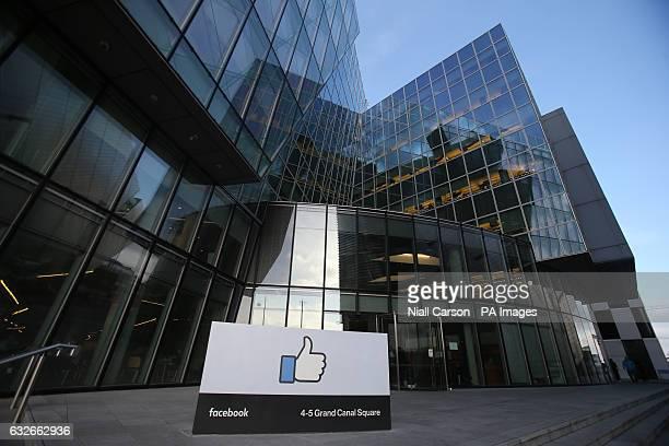 Facebook's European headquarters in Dublin