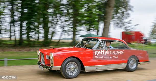 """facel vega fvs3b 1950s classic coupe car - """"sjoerd van der wal"""" photos et images de collection"""