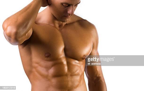 Gesicht Männlicher torso