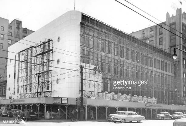 APR 1 1951 Facelifting operation on three major downtown Denver buildings are rapidly nearing completion and are scheduled for completion within the...