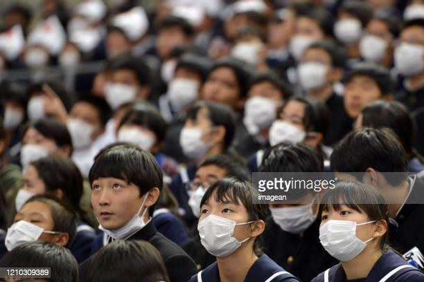 maschera facciale - giappone foto e immagini stock
