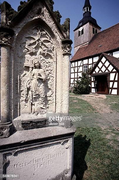 Fachwerkkirche in Schlepzig 1999