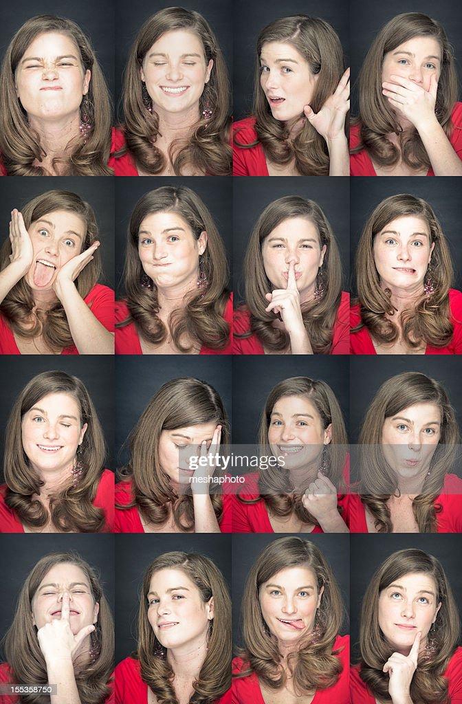 Junge Frau-Gesichtsbehandlung : Stock-Foto