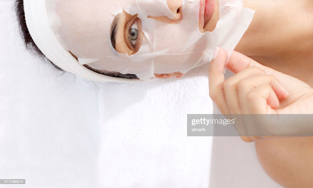 Facial Mask : Stock Photo