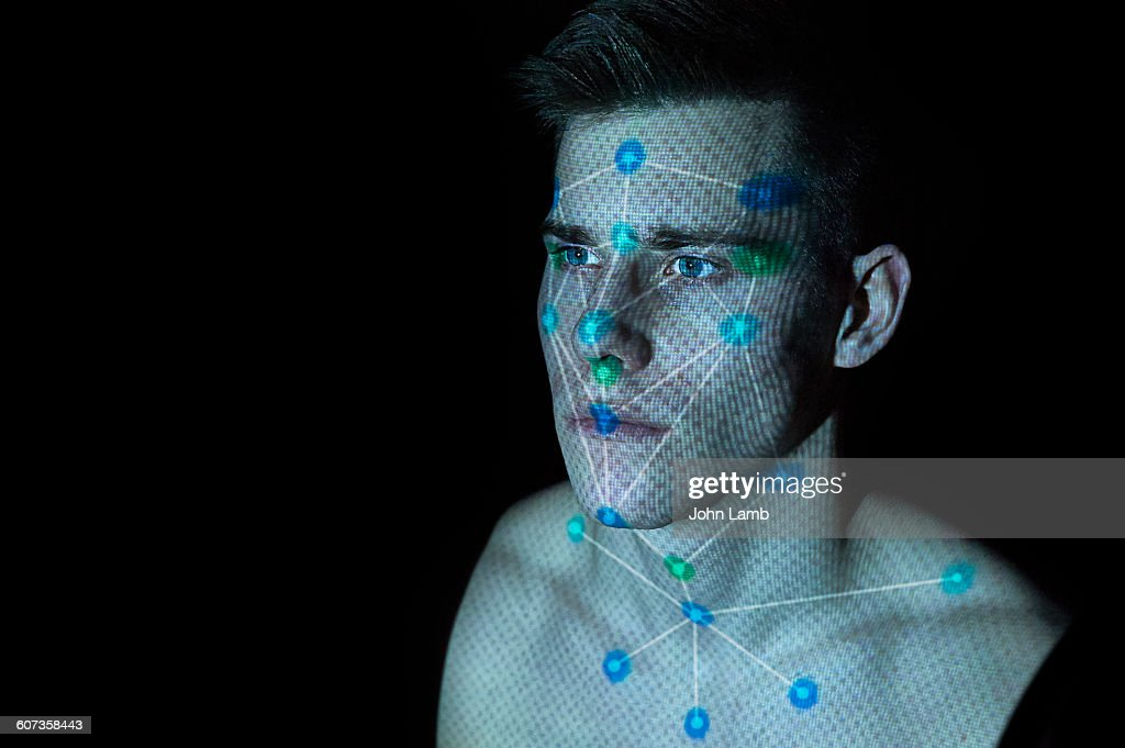 Facial Recognition : Stock Photo
