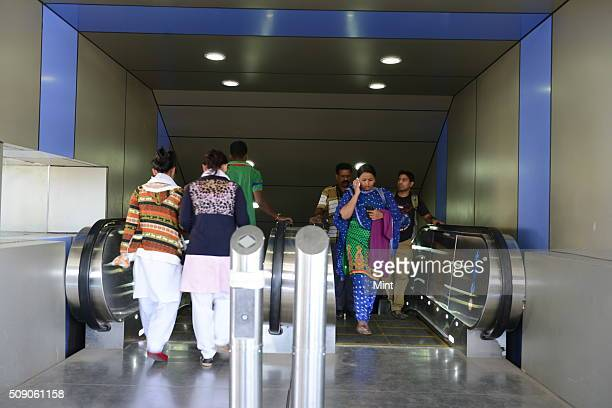 Facilities at Bangalore city station for old age people include separate waiting room, escalator, battery car and lift, on February 24, 2015 in...
