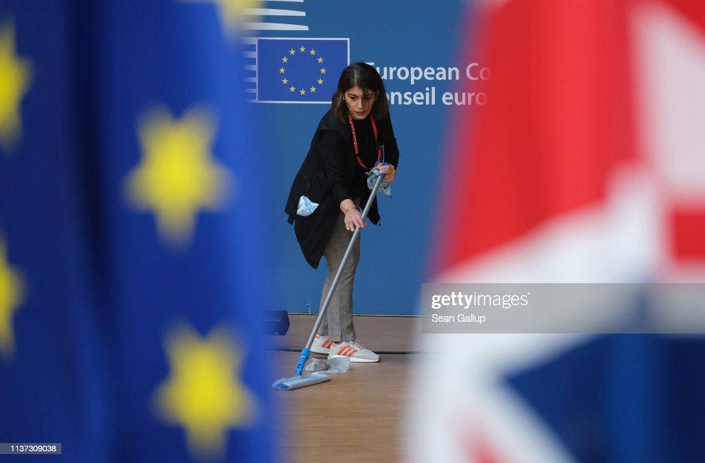BEL: European Council Convenes As UK Seeks Brexit Delay