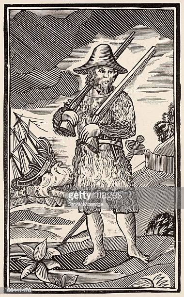 an extensive summary of daniel defoes robinson crusoe This book is about a boy, called robinson crusoe, who was born in york in 1632 one day, at hull, crusoe saw one of his companions board a ship bound for london  the author, daniel defoe, is.