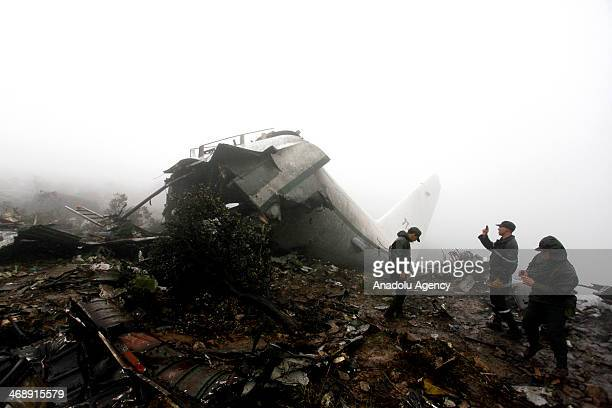 A factfinding commission has been dispatched to the scene to determine the cause of the military plane crash left 77 people killed and 1 other...