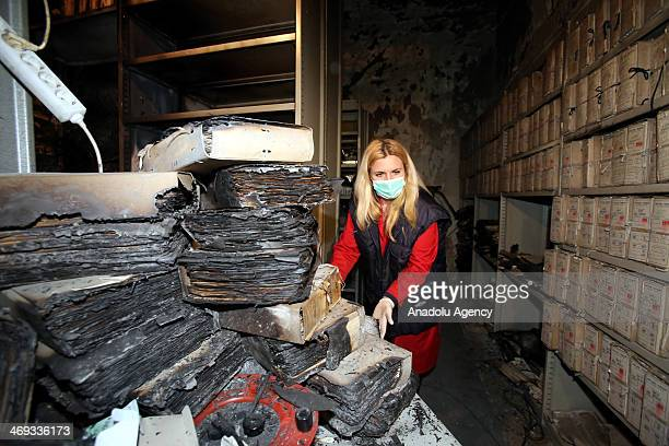 Fact-finding commission has been dispatched to the scene to determine the cause of burned archives in Austria-Hungary history in Sarajevo presidency...