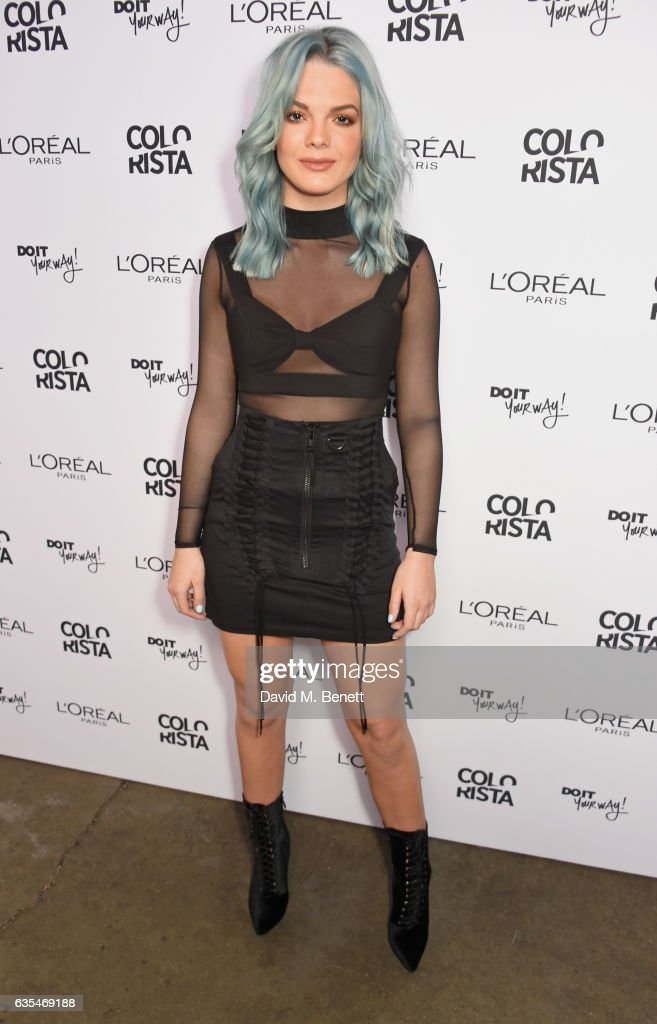 Louisa Johnson Announced As Face Of L'Oreal Paris Colorista at Launch Party