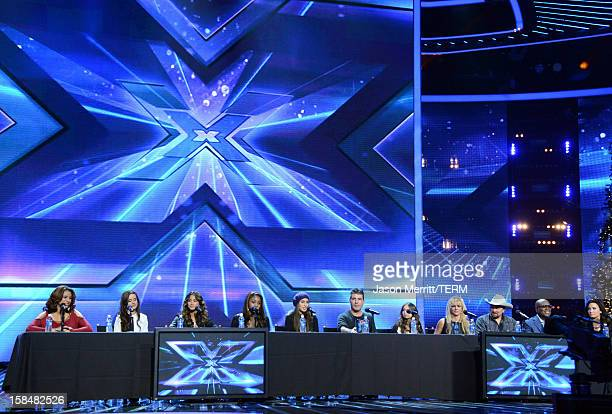 X Factor contestants Fifth Harmony producer Simon Cowell X Factor contestant Carly Rose Sonenclar X Factor Judge Britney Spears X Factor contestant...