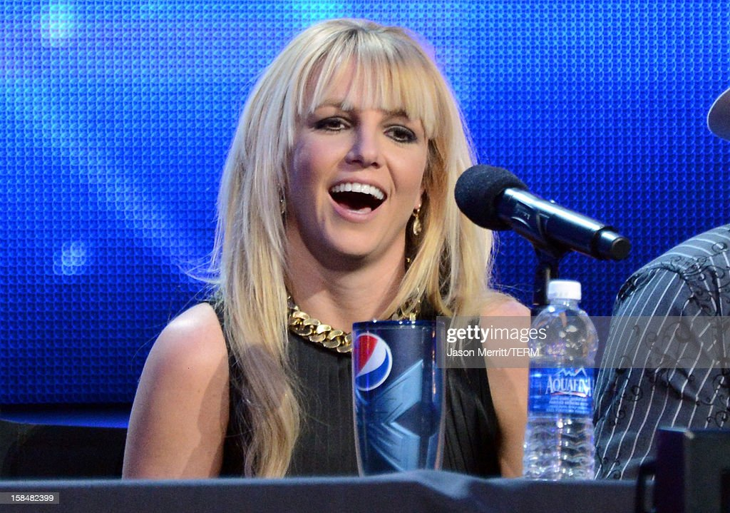 Fox's 'The X Factor' Season Finale News Conference : News Photo