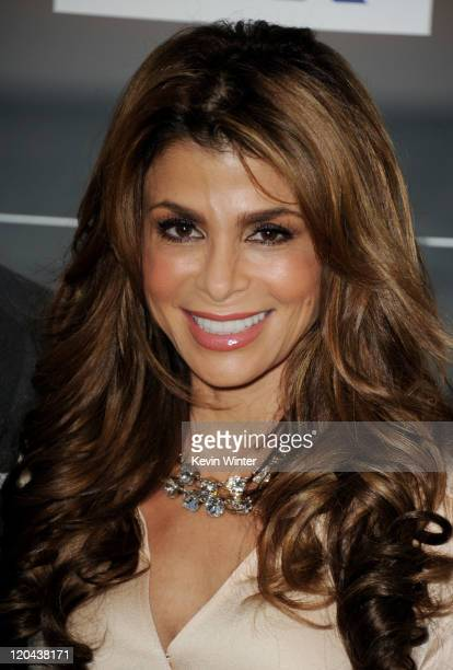 Factor judge Paula Abdul arrives at the FOX All-Star party at Gladstones on August 5, 2011 in Pacific Palisades, California.