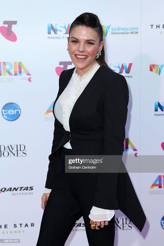29th Annual ARIA Awards 2015 - Arrivals : News Photo