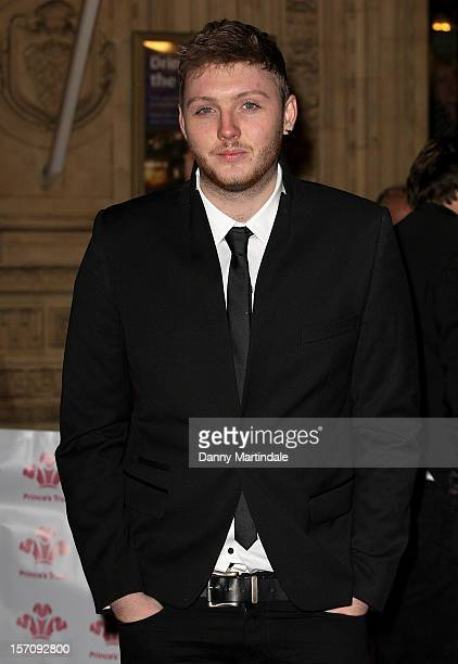 Factor singer James Arthur attends the Princes' Trust Comedy Gala at Royal Albert Hall on November 28 2012 in London England