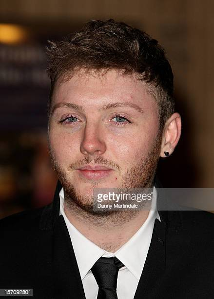 Factor singer James Arthur attends the Princes' Trust Comedy Gala at Royal Albert Hall on November 28, 2012 in London, England.