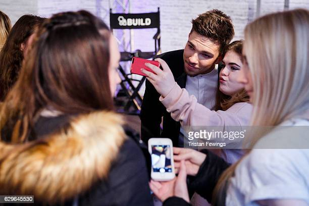 Factor winner Matt Terry takes part in a Build LDN talk at AOL London on December 14 2016 in London England