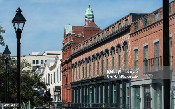factors walk, savannah, georgia - historic district stock pictures, royalty-free photos & images
