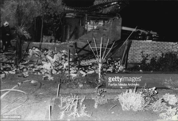 Factory FireFire in Clothing factory in Rawson street Auburn December 27 1982