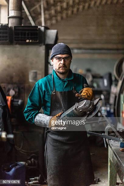 Factory Man portrait