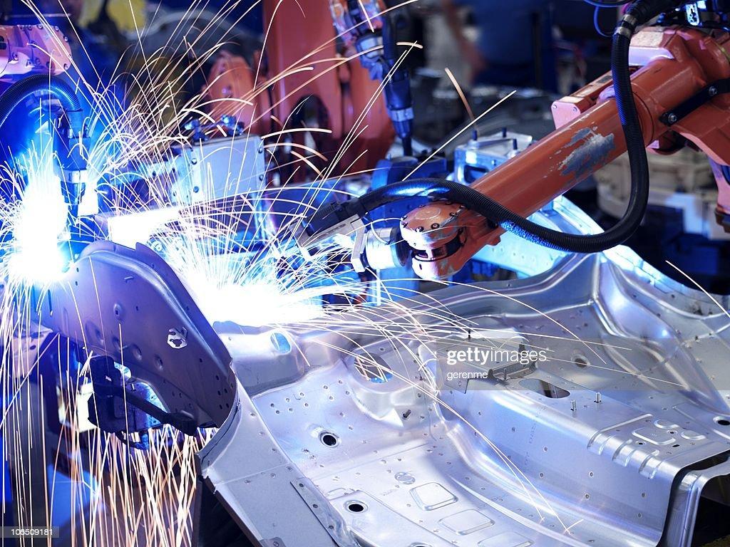 Fábrica de fabricación : Foto de stock
