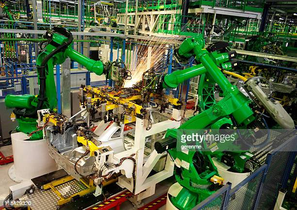 factory manufacturing - automated stock pictures, royalty-free photos & images