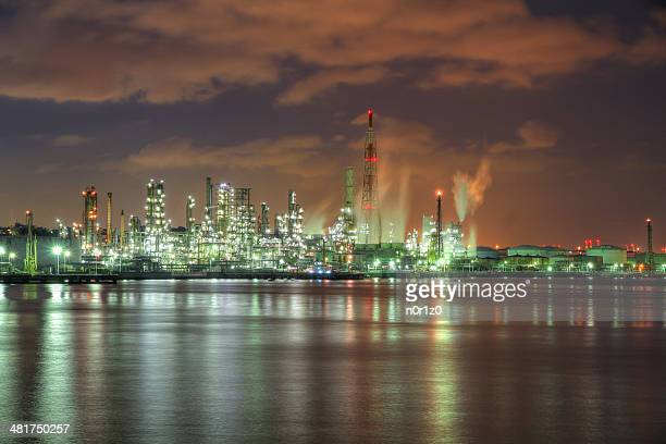 Factory night view (Yokohama, Kanagawa)