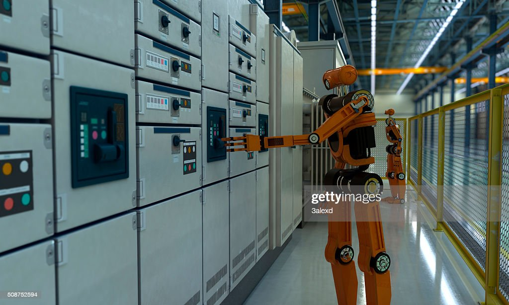 Factory of Future : Stock Photo