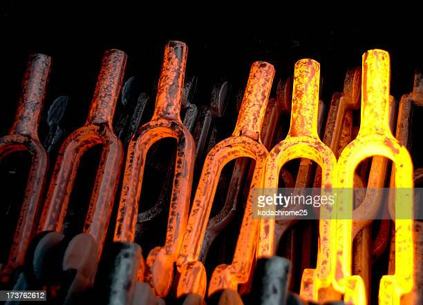 factory - blacksmith shop stock photos and pictures
