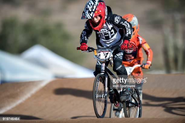 Factory Powerlite/DFR's Carter Cochran took third in the 8 Expert class during the USA BMX Winter Nationals on February 17 at Black Mountain BMX in...