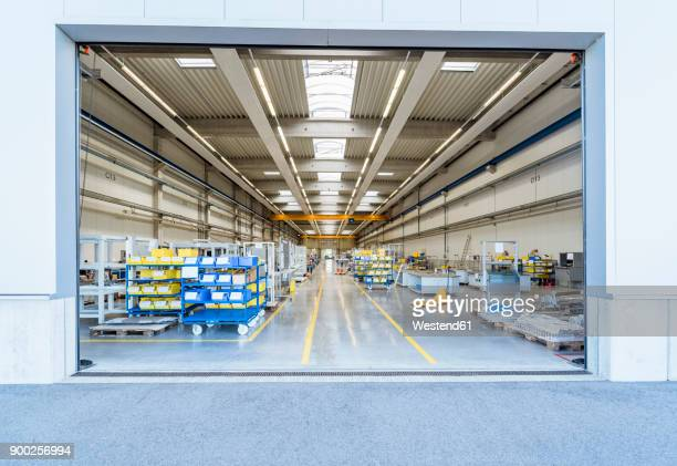 factory shop floor - loading dock stock pictures, royalty-free photos & images