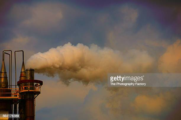 Factory Smokestack in Arcadia, Florida