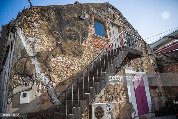 LX fábrica street art, Lisboa, Portugal