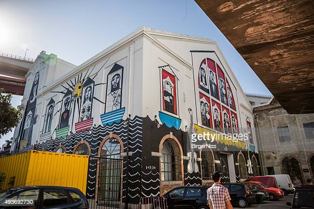 LX Factory street art, Lissabon, Portugal