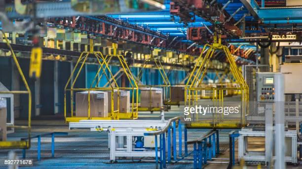 Factory transportation system