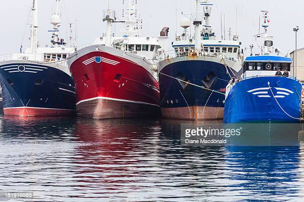 Factory Trawlers and Shrimp Trawler