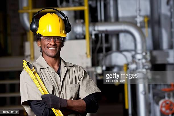 Fábrica trabajador