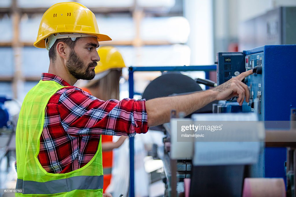 Fabrik Arbeiter  : Stock-Foto