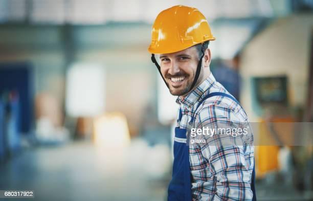 Ouvrier d'usine.