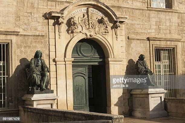 faculty of medicine in montpellier, france - hérault stock pictures, royalty-free photos & images