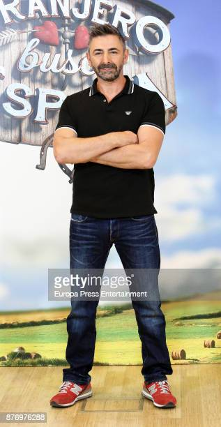 Facundo attends the presentation of 'Granjero Busca Esposa' tv programme on November 20 2017 in Madrid Spain