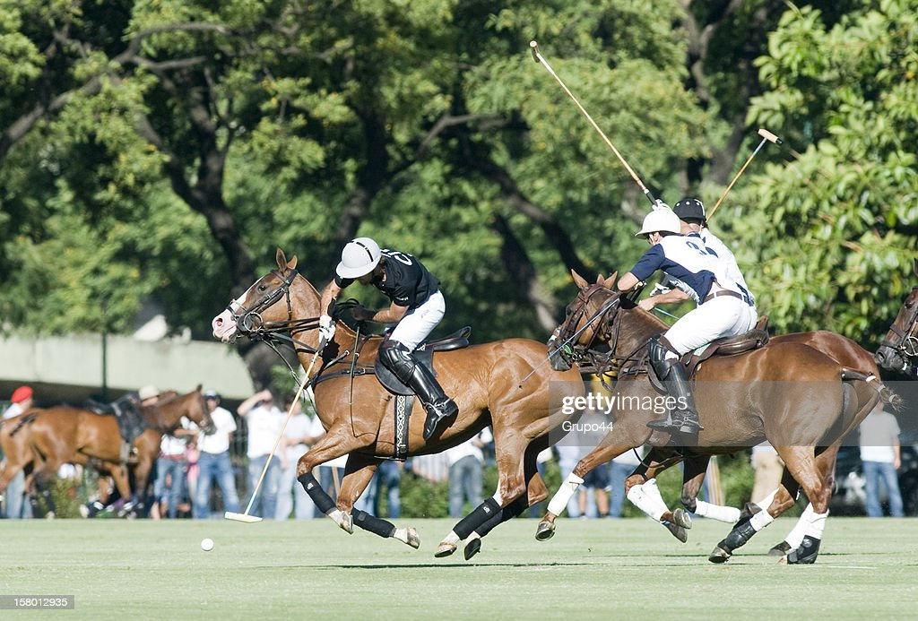Facundo Pieres of Ellerstina in action during a polo match between La Dolfina and Ellerstina as part of the 119th Argentina Open Polo Championship Final on December 08, 2012 in Buenos Aires, Argentina.