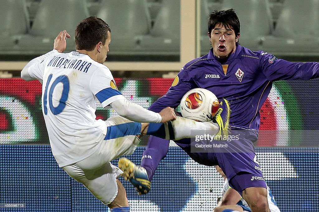 ACF Fiorentina v FC Dnipro Dnipropetrovsk - UEFA Europa League : News Photo