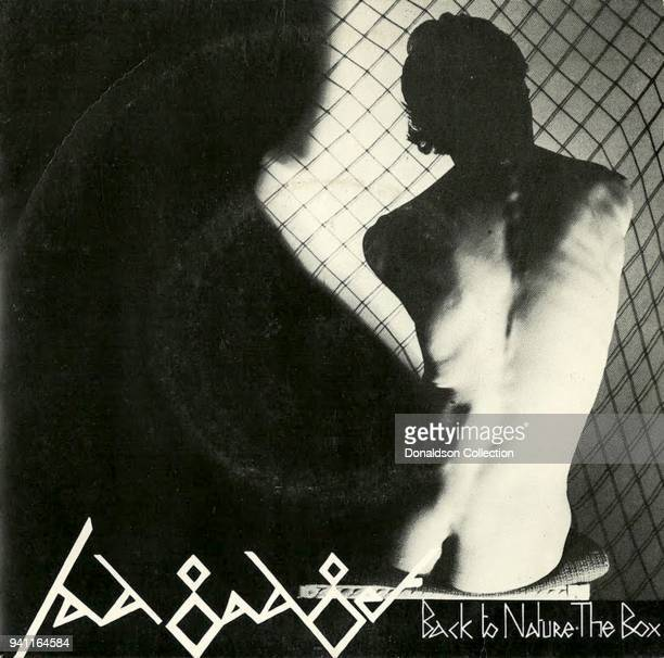 Fad Gadget 'Back to Nature the Box' album cover which was released in 1979